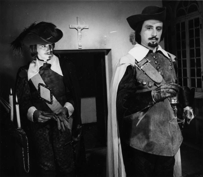 Три мушкетера съемки