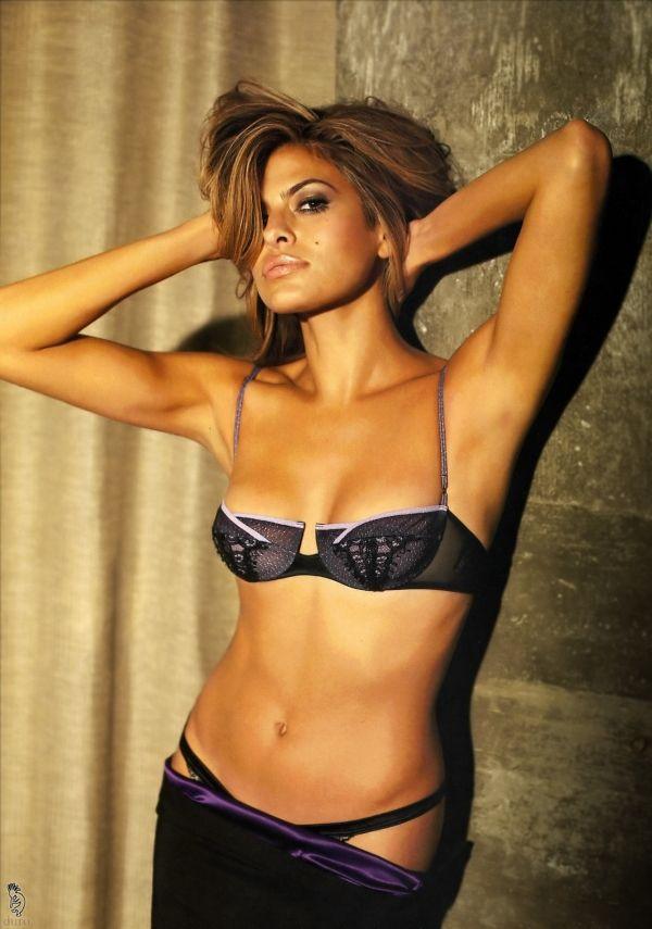 Ева Мендес фото белье Eva Mendes photo underwear