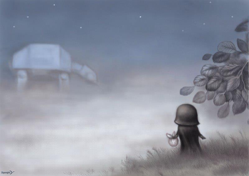 Darth Vader Ежик в тумане
