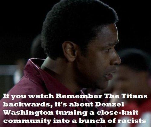 Если смотреть задом наперед Вспоминая титанов