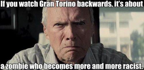 Если смотреть задом наперед Гран Торино