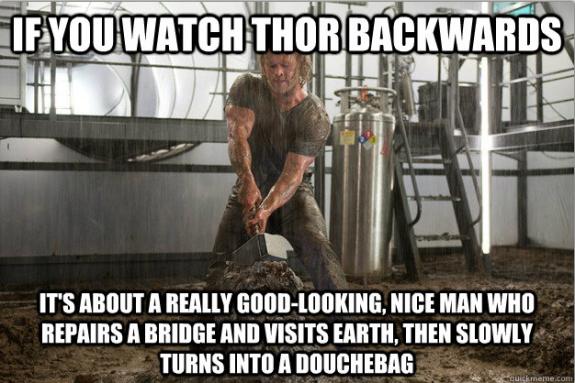 Если смотреть задом наперед Тор