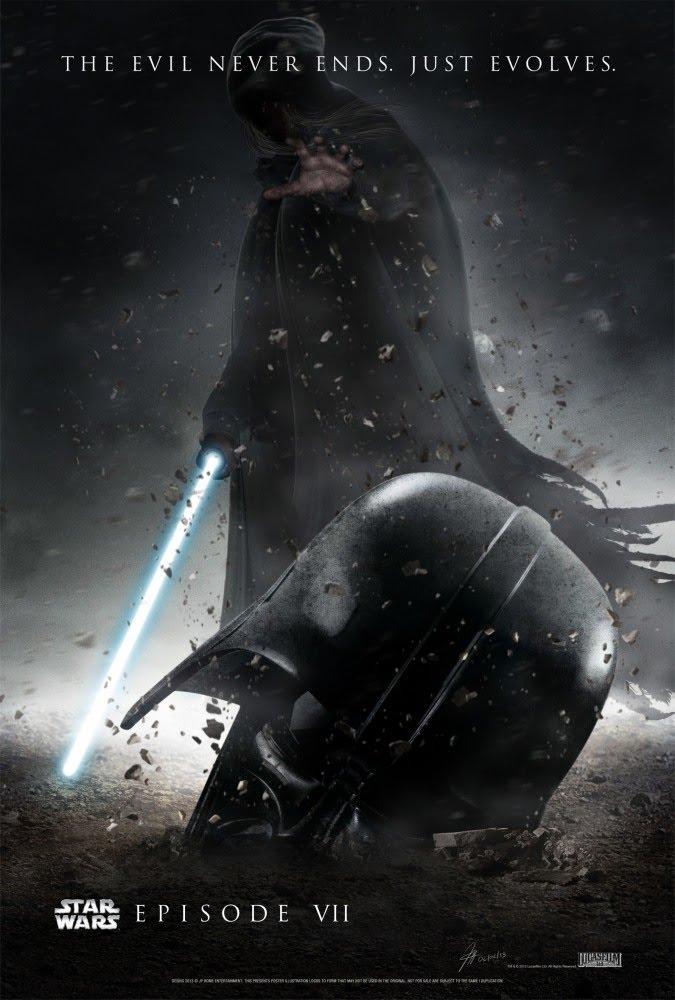 Постер нового эпизода Звездных Войн