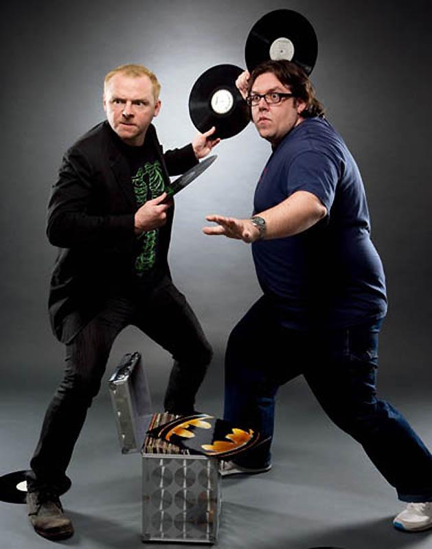 Саймон Пегг и Ник Фрост – «Зомби по имени Шон».