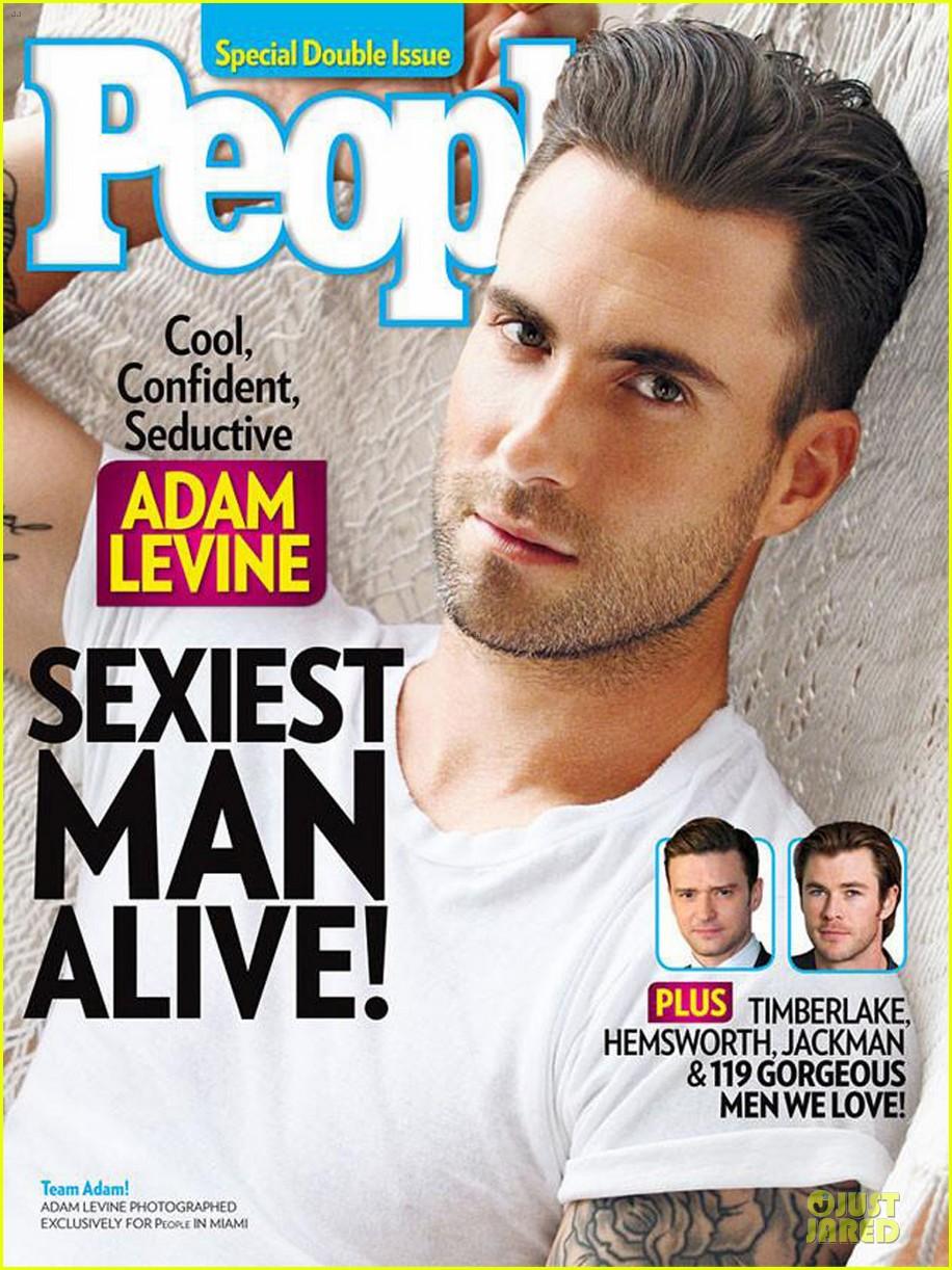 Адам Левин Sexiest Man Alive 2013