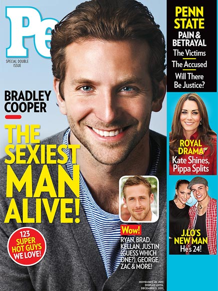Брэдли Купер Sexiest Man Alive 2011