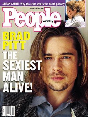Sexiest Man Alive Brad Pitt