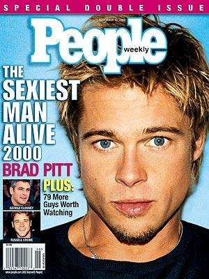 Брэд Питт Sexiest Man Alive 2000