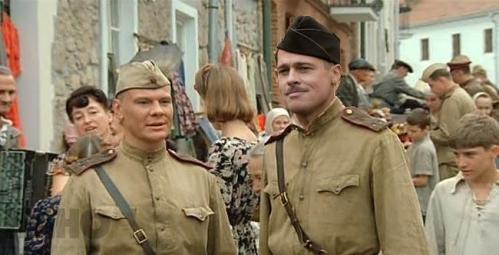 Голливудские актеры в советском кино Брэд Питт В августе 44-го