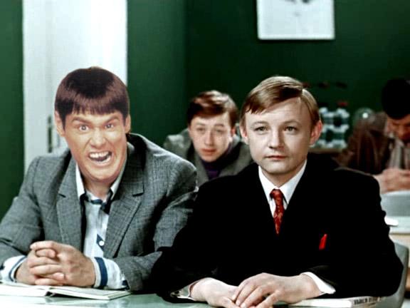 Голливудские актеры в советском кино Джим Кэрри Большая перемена