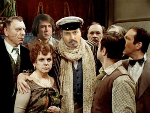 Голливудские актеры в советском кино Джонни Депп 12 стульев