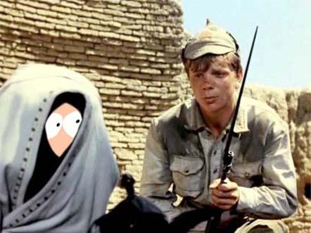Голливудские актеры в советском кино Кенни Белое солнце пустыни