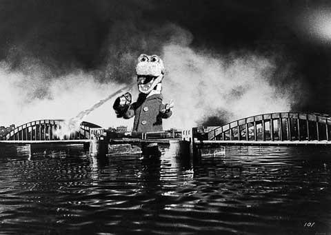 Голливудские актеры в советском кино Крокодил Гена Годзилла