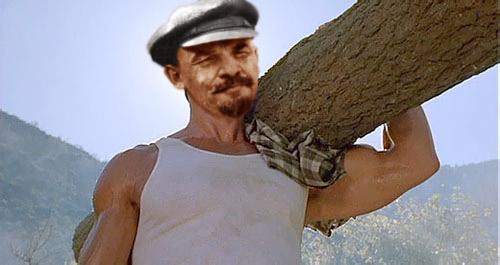 Голливудские актеры в советском кино Ленин Коммандо