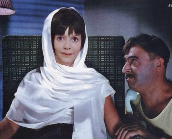 Голливудские актеры в советском кино Одри Тату Кавказская пленница