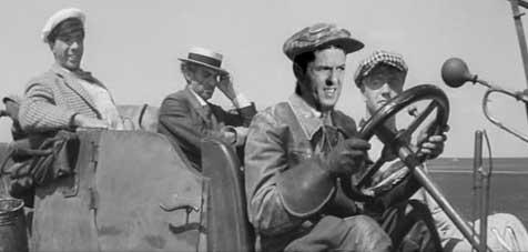 Голливудские актеры в советском кино Такси Золотой теленок