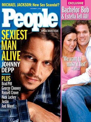 Джонни Депп Sexiest Man Alive 2003