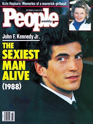 Sexiest Man Alive 1988 JFK