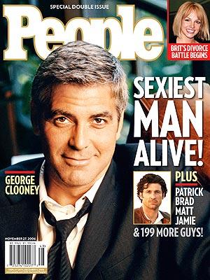 Джордж Клуни Sexiest Man Alive 2006