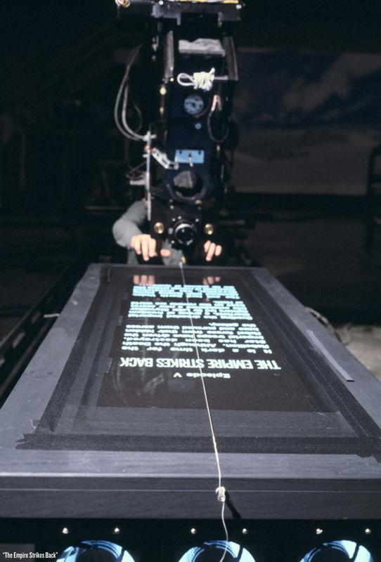 За кадром фильма Звездные Войны Как снимали титры