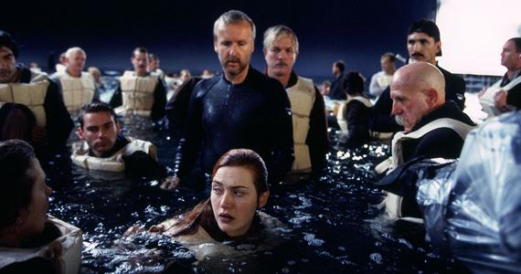 Кейт Уинслет снималась в Титанике без гидрокостюма