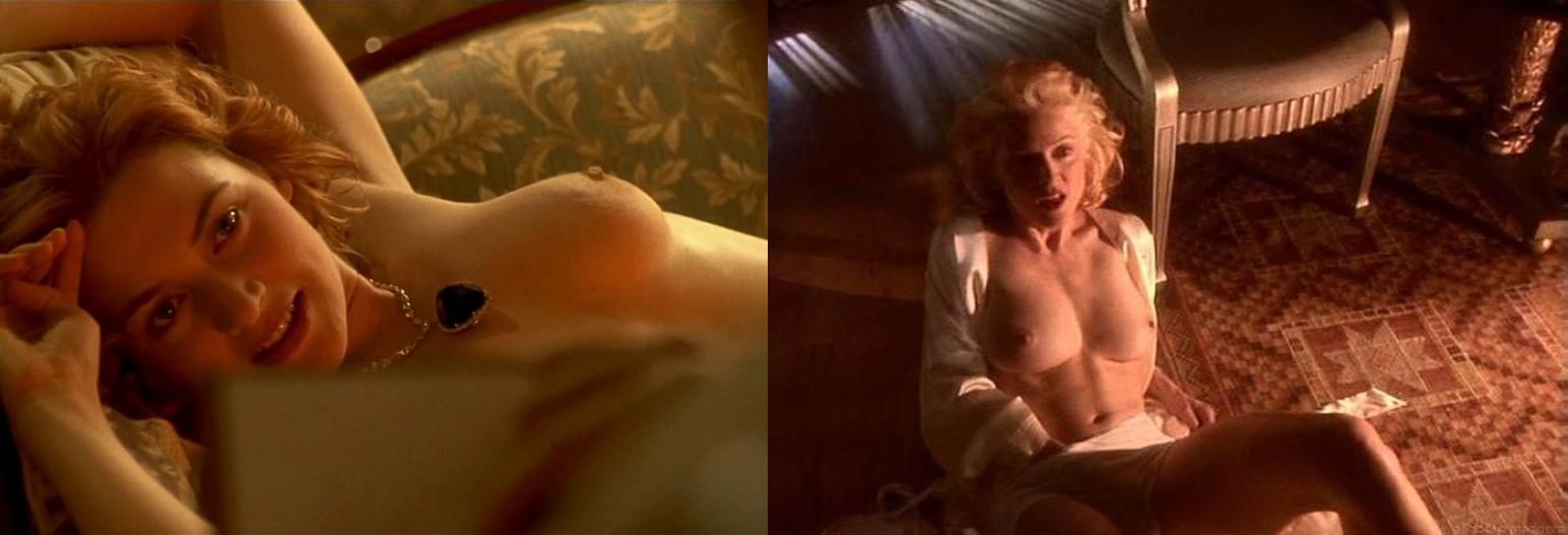 Мадонна могла сыграть роль Кейт Уинслет в Титанике
