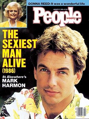 Sexiest Man Alive Mark Harmon