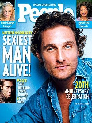 Мэттью Макконахи Sexiest Man Alive 2005