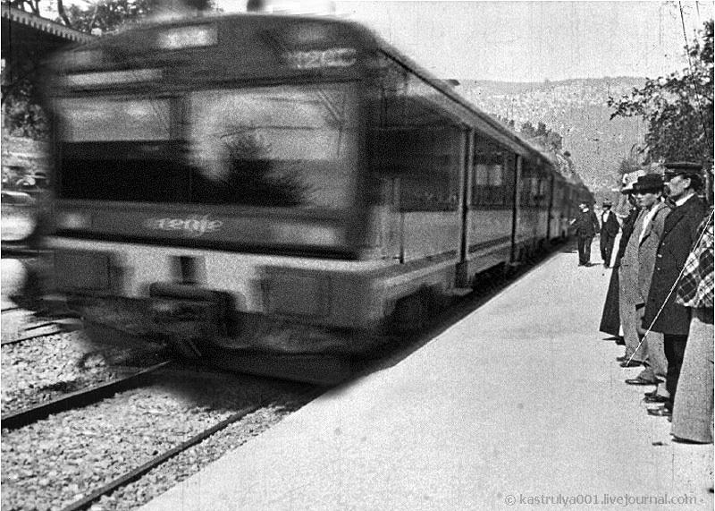 Прибытие поезда ремейк
