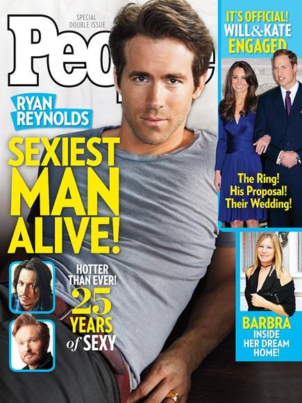 Райан Рейнольдс Sexiest Man Alive 2010