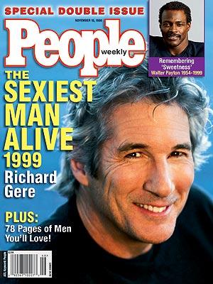 Ричард Гир Sexiest Man Alive 1999