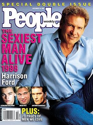 Харрисон Форд Sexiest Man Alive 1998