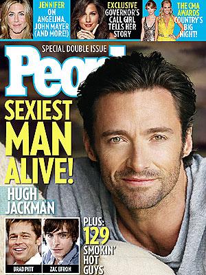 Хью Джекман Sexiest Man Alive 2008