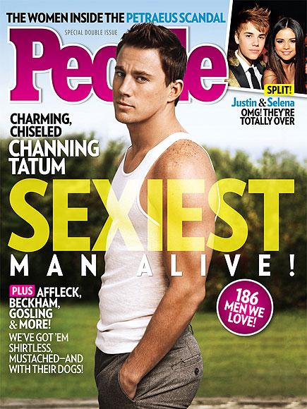 Ченнинг Тейтум Sexiest Man Alive 2012