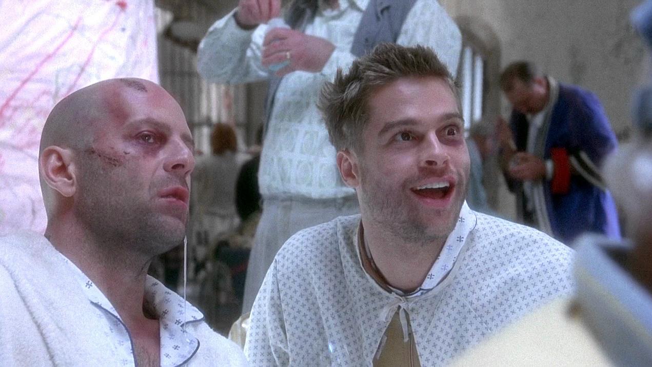 12 monkeys Brad Pitt