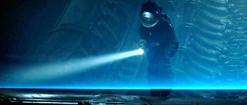 Чужой синие лазеры