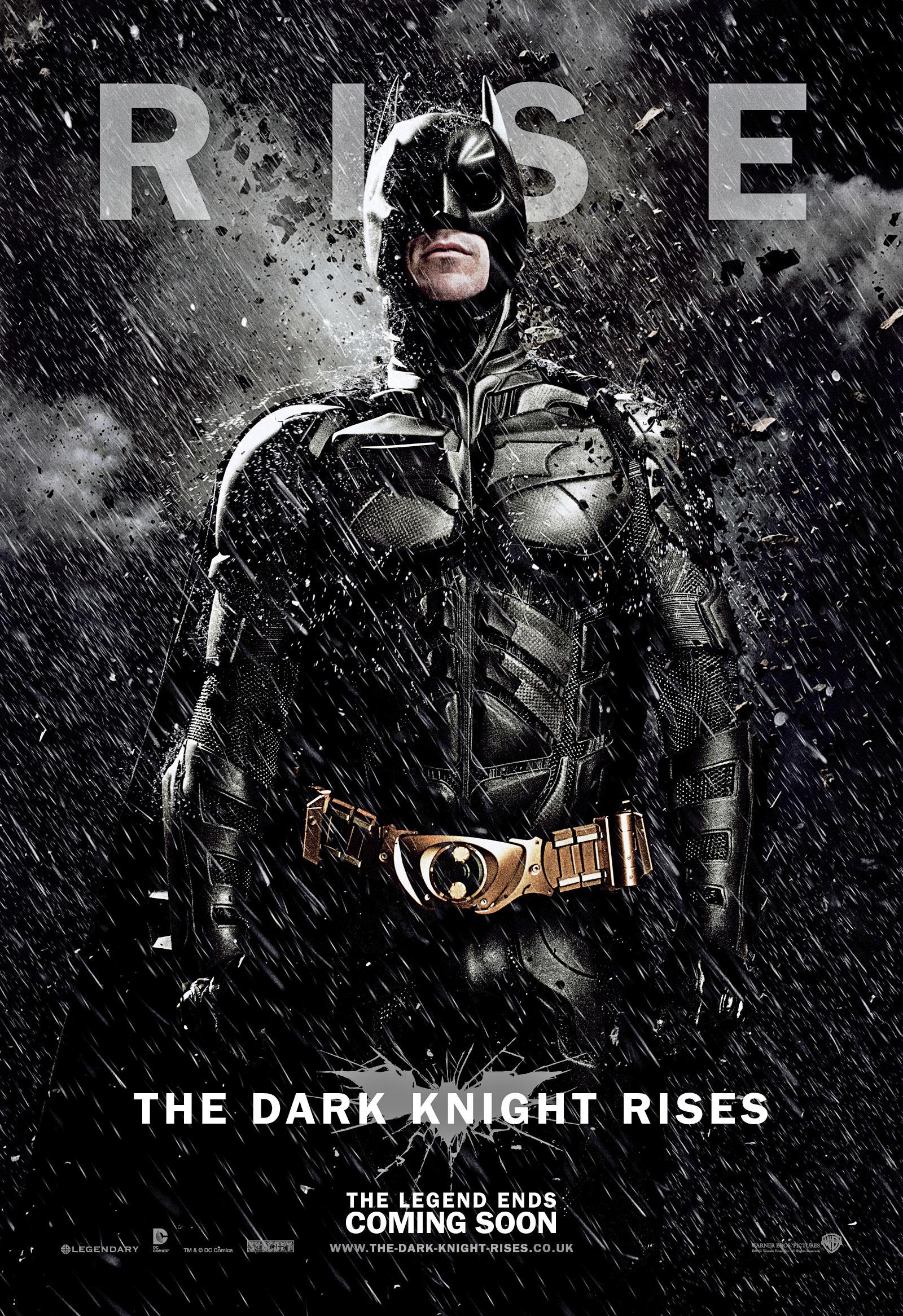 Бэтмен в фильме Возвращение темного рыцаря дождь