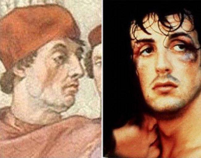 Сильвестр Сталлоне и папа Григорий IX