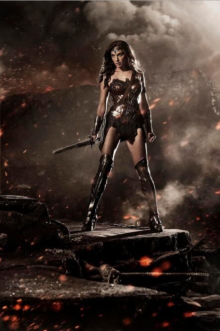 Чудо-женщина Бэтмен против Супермена Галь Гадот