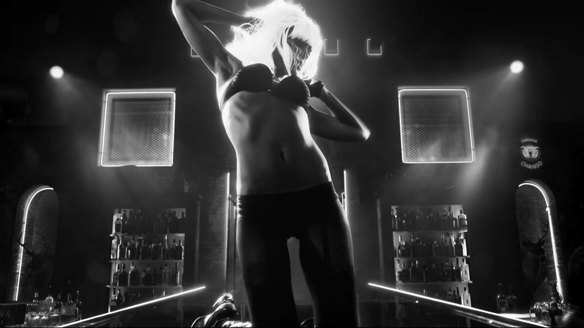 Город грехов 2 (Sin City A Dame to Kill For) Джессика Альба стриптиз танец