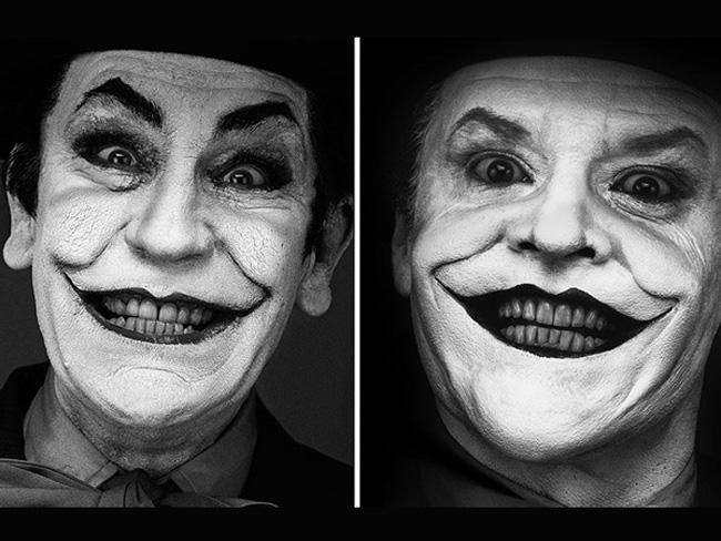 Джон Малкович в образе знаменитых фотографий Джокер
