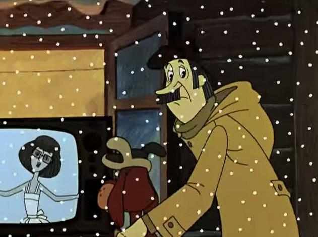 Зима в Простоквашино кадр