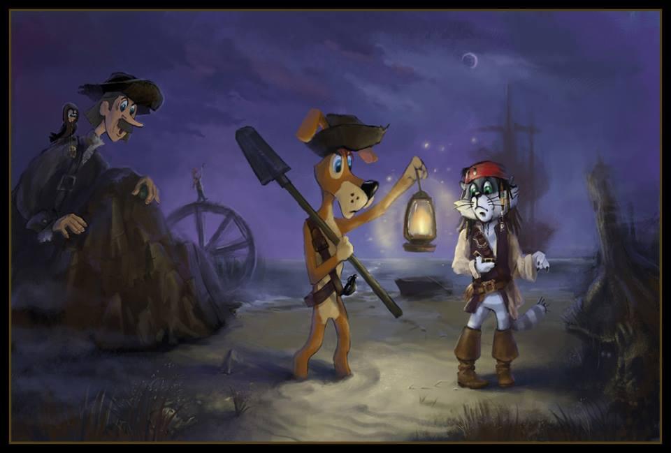 Старые мультфильмы на новый лад Простоквашино Пираты Карибского моря