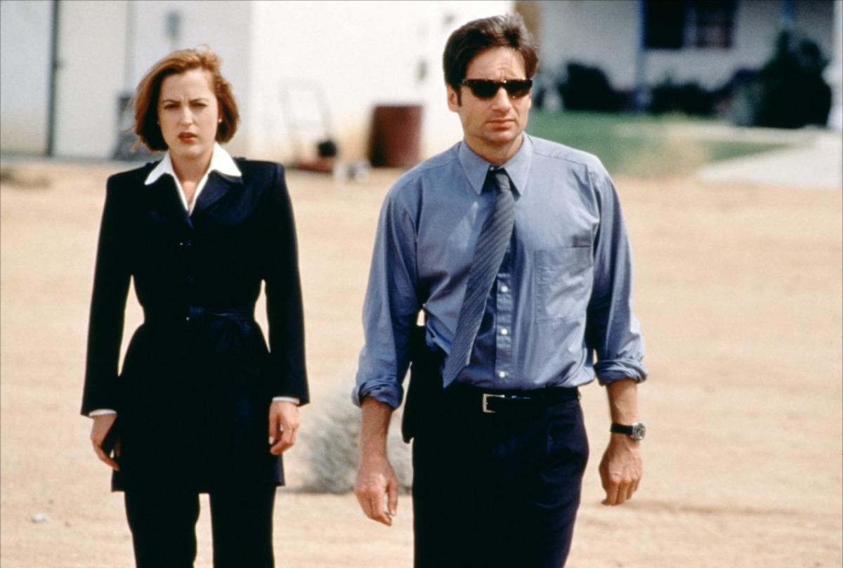 The X-Files Секретные материалы Скалли Малдер