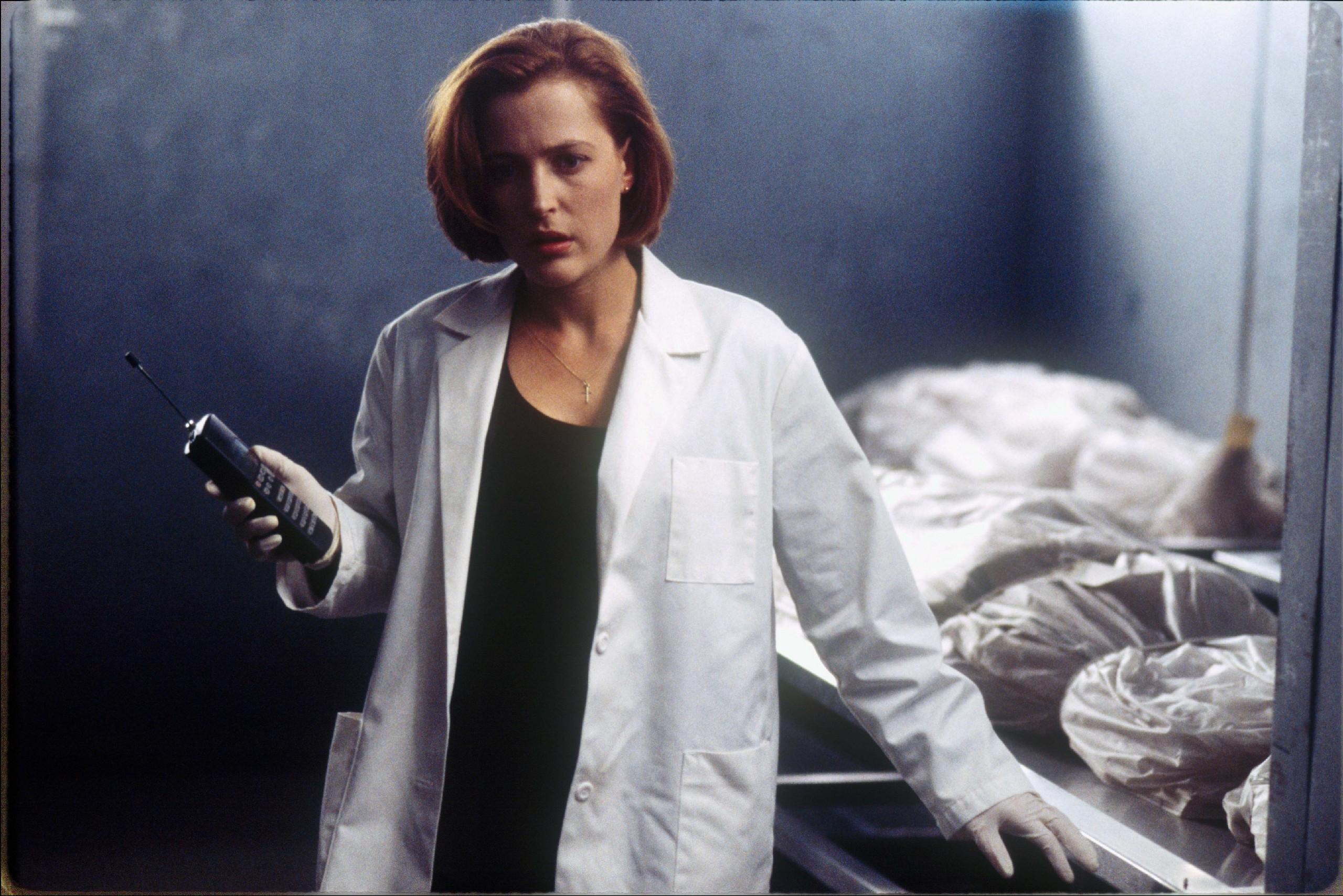 The X-Files Секретные материалы Скалли