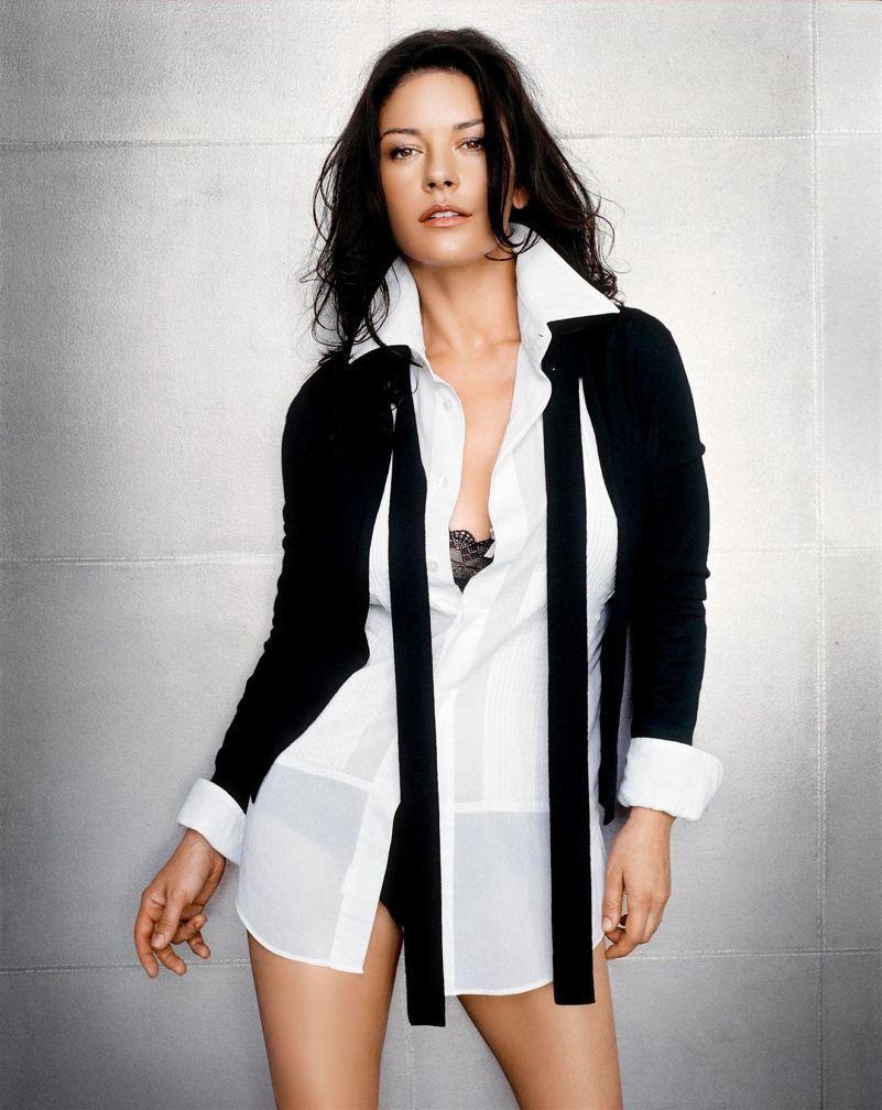 Кэтрин Зета-Джонс белье фото Catherine Zeta-Jones photos lingerie