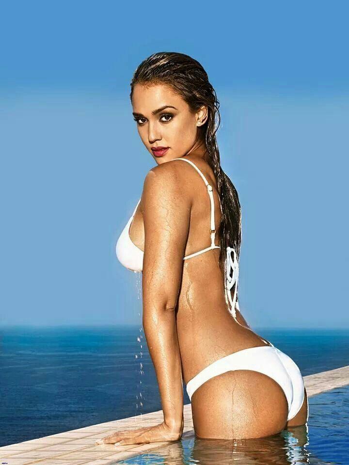 Джессика Альба фото попа Jessica Alba photo ass