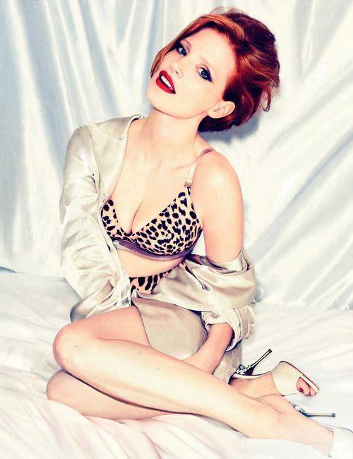 Джессика Честейн фото белье Jessica Chastain photo underwear