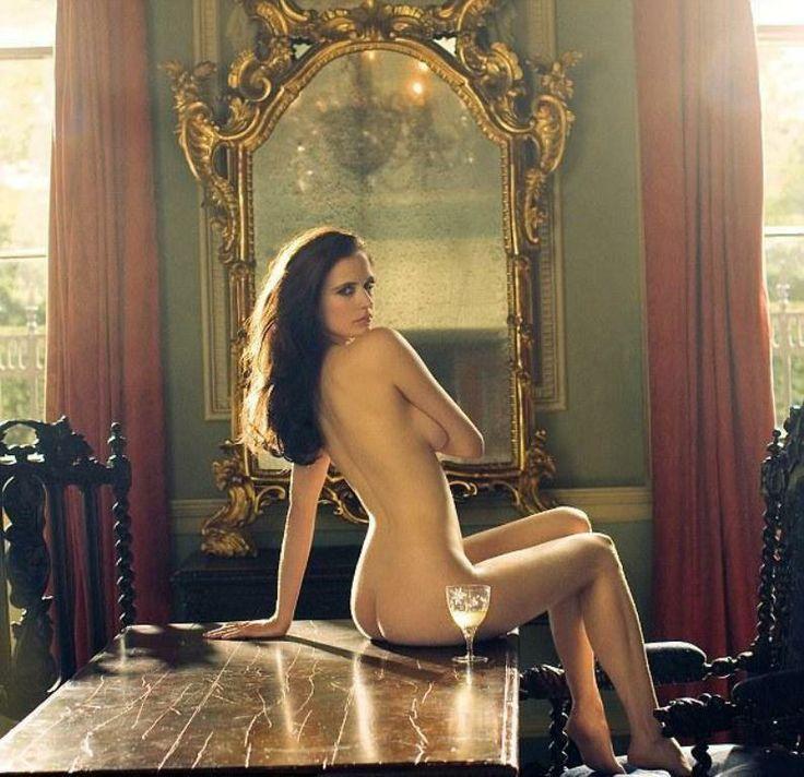 Ева Грин фото голая попа Eva Green photo nude ass