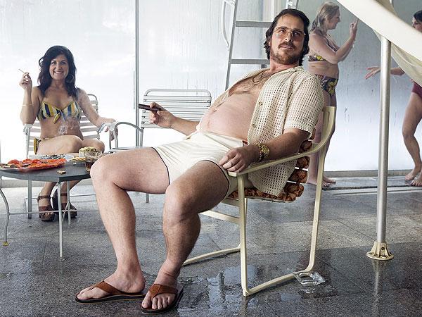 Кристиан Бэйл Christian Bale Афера по-американски American hustle